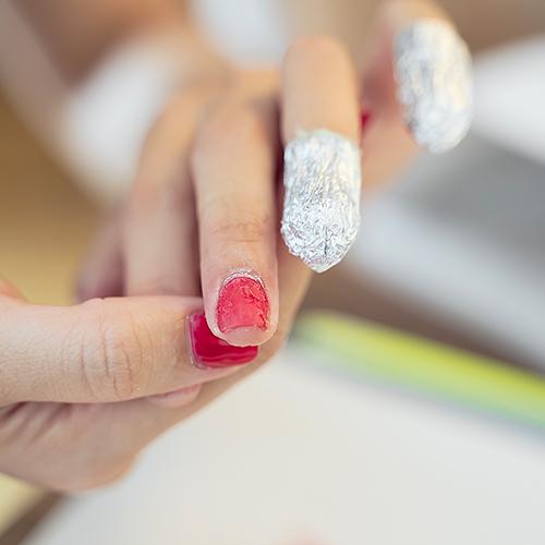 Lingettes et disques soin des ongles