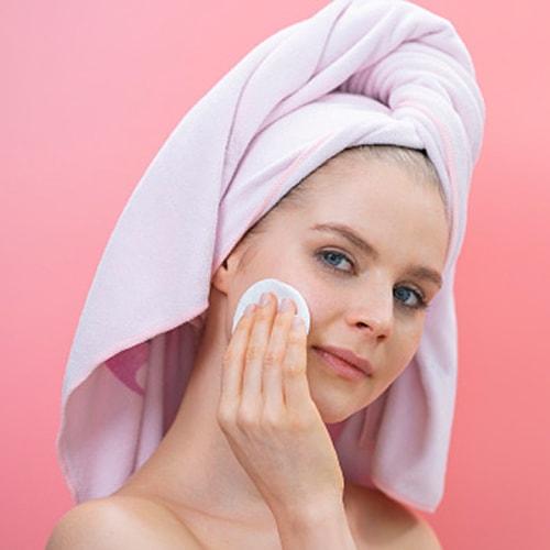Disques de soin pour le visage